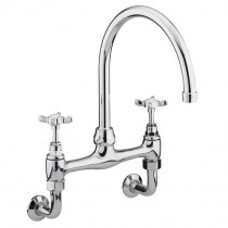 1901 Wall Mounted Bridge Sink Mixer