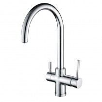 Neso Mixer and Cold Filter With Swivel Spout
