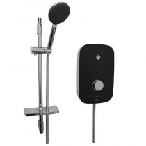 Noctis 9.5kW Electric Shower Black and Chrome