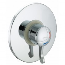 OPAC Thermostatic Concealed Shower Valve with Chrome Lever