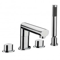 OV1 4 Hole Bath Shower Mixer