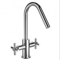Bristan Pecan Easyfit Twin Handle Sink Mixer