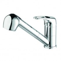 Pear Mixer Tap With Pull Out Spray