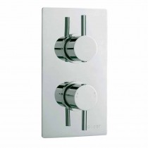 Pioneer Twin Shower Valve Lever Handle Brass Trimset