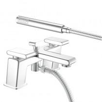 Pivot Bath Shower Mixer Chrome