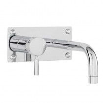 Helix Single Lever Wall Bath and Basin Filler