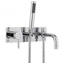 Helix Single Lever Wall Bath Shower Mixer