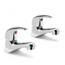 PL3 Basin Taps Chrome