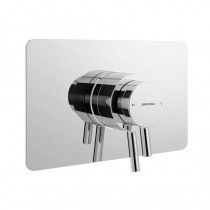 Prism Concealed Centric Chrome Shower Valve
