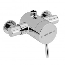 Prism Exposed Sequential Chrome Top Outlet Shower Valve