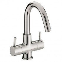 Prism Two Handled Basin Mixer
