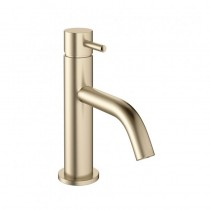 MPRO Basin Mixer Brushed Brass