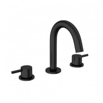 Crosswater Mike Pro 3 Hole Basin Mixer Matt Black