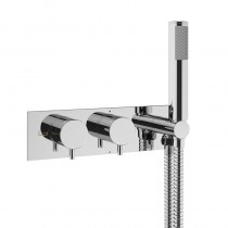 Mike Pro Thermo Shower Valve with Handset Chrome