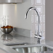 Abode Pronteau Prostream 3 IN 1 Monobloc Tap Chrome