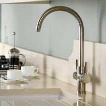 Abode Pronteau Prostream 3 IN 1 Monobloc Tap Brushed Nickel