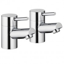 Xcite Bath Pillar Taps (Pair)