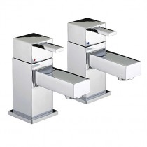 Bristan Quadrato Eco Basin Taps (Pair)