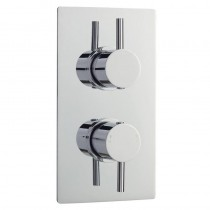Quest Concealed Twin Shower Valve with Diverter