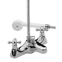 Regency Deck Mounted Bath Shower Mixer