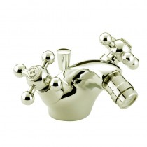 Regency Bidet Mixer Gold with Pop-up Waste