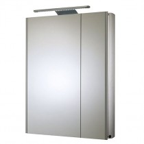 Refine Slimline Double Door Cabinet With Light