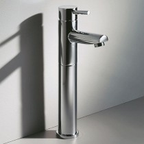Roper Rhodes Storm Tall Monobloc Basin Mixer with Push Button Waste