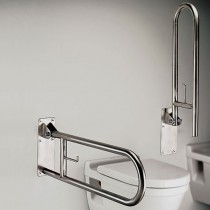 Safety Toilet Swing Bar