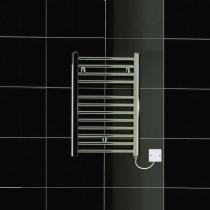 TS 400 x 600 Electric Towel Rail Flat Chrome