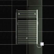 TS 500 x 770 Electric Heated Towel Rail Flat Chrome