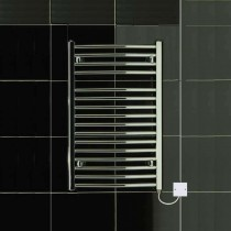 TS 500 x 770 Electric Heated Towel Rail Curved