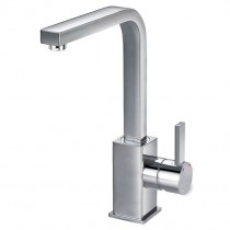 STR8 Medium Basin Mixer with Clicker Waste