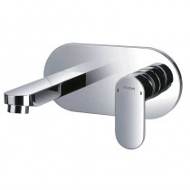 Smart Concealed Single Lever Basin Mixer with Clicker Waste