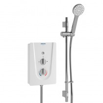 Smile 3 9.5Kw Electric Shower White