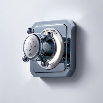 Crosswater Belgravia Crosshead Digital Single Outlet with Processor Low Pressure - SOLOBLLP