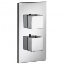 SQ2 Flow Single Outlet Thermostatic Shower Valve