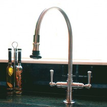 Steamvalve Monobloc Pull Off Spray Tap Polished Stainless Steel