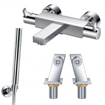 STR8 Thermostatic Deck Bath Shower Mixer