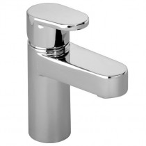 Stream Mini Basin Mixer inc Push Button Waste