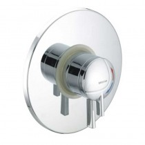 STRATUS Thermostatic Dual Control Concealed Shower Valve with Chrome Levers