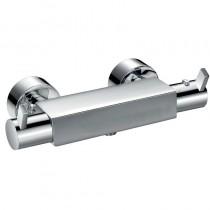 Flova UK STR8 Exposed Thermostatic Shower Mixer