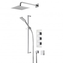 Veer Triple Function Shower System with Smartflow Bath Filler