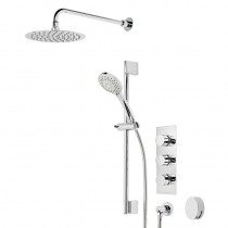 Insight Triple Function Shower System with Smartflow Bath Filler