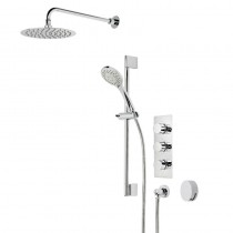 Verse Triple Function Shower System with Smartflow Bath Filler