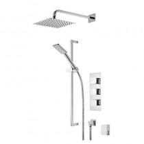 Sign Triple Function Shower System with Smartflow Bath Filler
