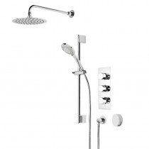 Poise Triple Function Shower System with Smartflow Bath Filler