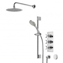 Wessex Triple Function Shower System with Smartflow Bath Filler