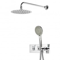 Stream Dual Function Shower System with Shower Head and Handset SVSET78