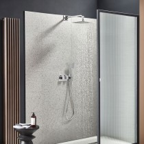 Sign Dual Function Shower System with Shower Head and Handset