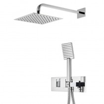 Sync Dual Function Shower System with Shower Head and Handset